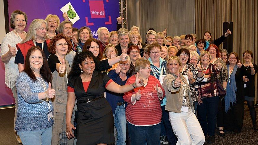 NRW-Delegierte bei der Bundesfrauenkonferenz
