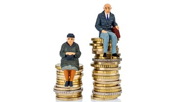 Gender Pension Gap Rentenlücke Frau Mann