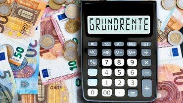 Grundrente Rente Geld Geldscheine