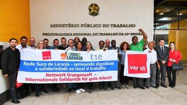 Orangensaft Solidarität Brasilien Gute Arbeit