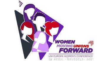 UNI Europa Frauenkonferenz 2021 Logo
